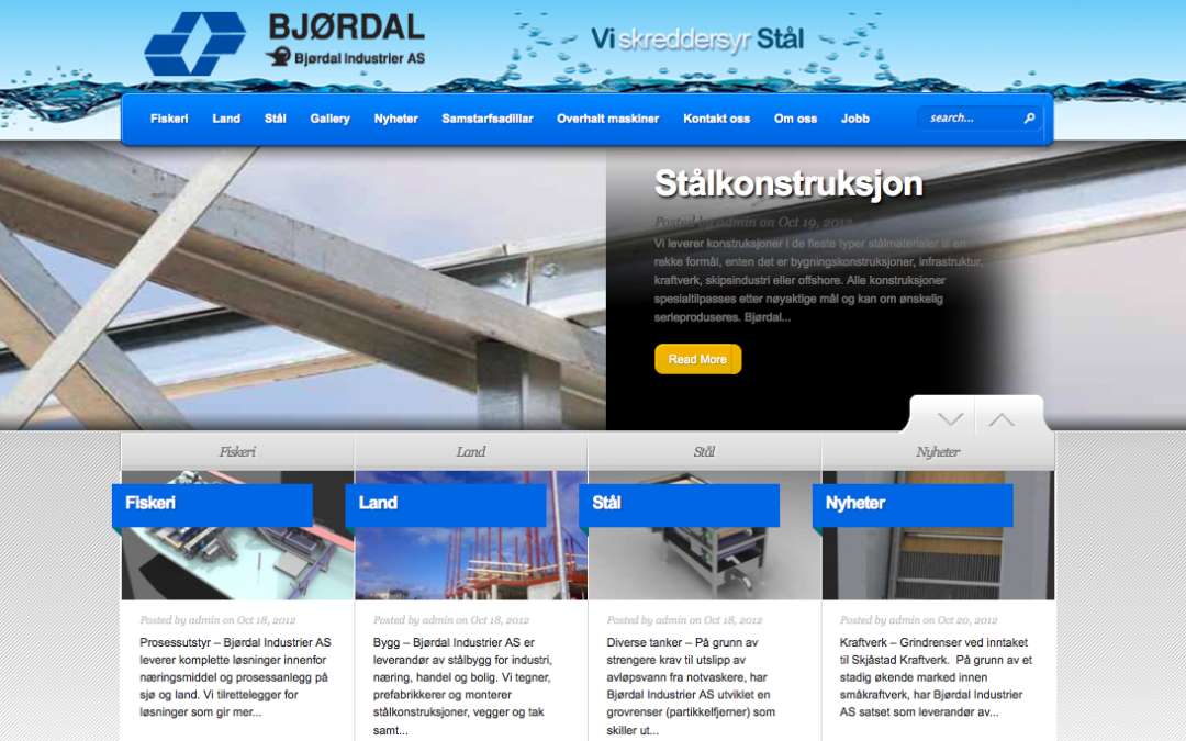 Bjørdal Industrier in Norway